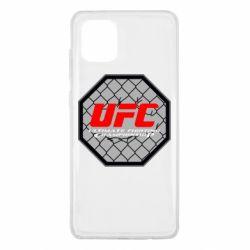 Чехол для Samsung Note 10 Lite UFC Cage