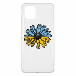 Чехол для Samsung Note 10 Lite Українська квітка