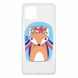 Чохол для Samsung Note 10 Lite Українська лисиця