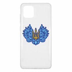 Чохол для Samsung Note 10 Lite Український тризуб арт
