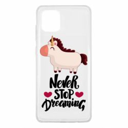 Чехол для Samsung Note 10 Lite Unicorn and dreams