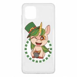 Чехол для Samsung Note 10 Lite Unicorn patrick day