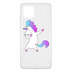 Чехол для Samsung Note 10 Lite Unicorn swag