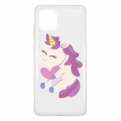 Чехол для Samsung Note 10 Lite Unicorn with love