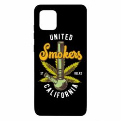Чохол для Samsung Note 10 Lite United smokers st relax California