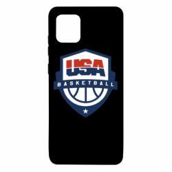 Чехол для Samsung Note 10 Lite USA basketball