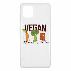 Чохол для Samsung Note 10 Lite Веган овочі