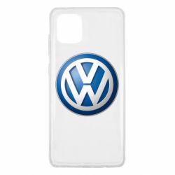 Чохол для Samsung Note 10 Lite Volkswagen 3D Logo