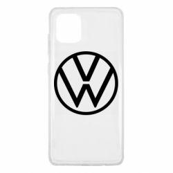 Чехол для Samsung Note 10 Lite Volkswagen new logo