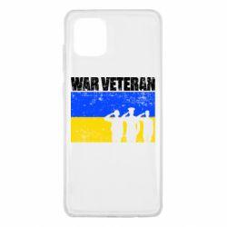 Чохол для Samsung Note 10 Lite War veteran