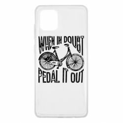 Чохол для Samsung Note 10 Lite When in doubt pedal it out