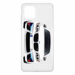 Чохол для Samsung Note 10 Lite White bmw