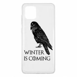 Чохол для Samsung Note 10 Lite Winter is approaching and crow