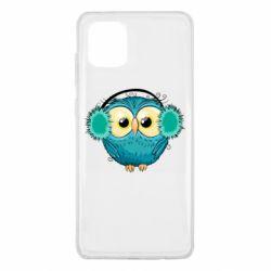 Чехол для Samsung Note 10 Lite Winter owl