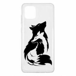 Чехол для Samsung Note 10 Lite Wolf And Fox
