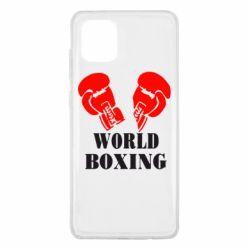 Чехол для Samsung Note 10 Lite World Boxing