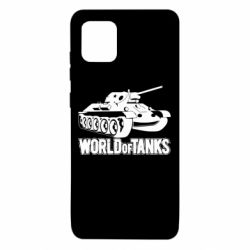 Чехол для Samsung Note 10 Lite World Of Tanks Game