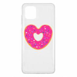 Чехол для Samsung Note 10 Lite Я люблю пончик