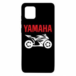 Чехол для Samsung Note 10 Lite Yamaha Bike