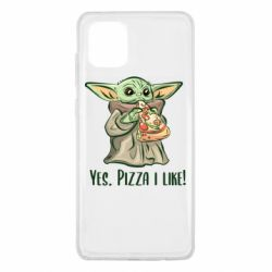 Чехол для Samsung Note 10 Lite Yoda and pizza