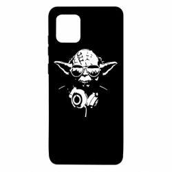 Чехол для Samsung Note 10 Lite Yoda в наушниках