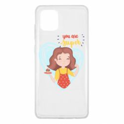 Чехол для Samsung Note 10 Lite You are super girl