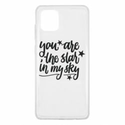 Чехол для Samsung Note 10 Lite You are the star in my sky