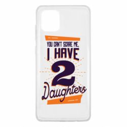 Чехол для Samsung Note 10 Lite You can't scare me i have 2 daughters