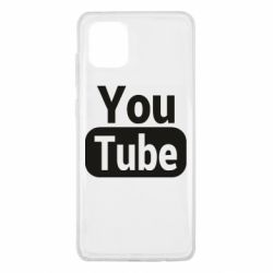 Чохол для Samsung Note 10 Lite Youtube vertical logo