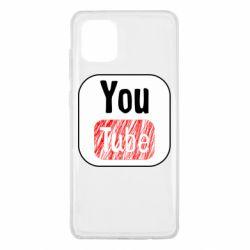 Чохол для Samsung Note 10 Lite YouTube