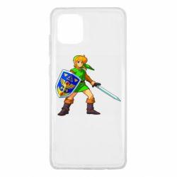 Чехол для Samsung Note 10 Lite Zelda