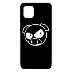 Чехол для Samsung Note 10 Lite Злая свинка
