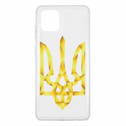 Чехол для Samsung Note 10 Lite Золотий герб