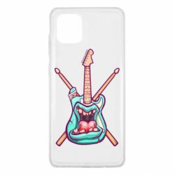Чохол для Samsung Note 10 Lite Zombie Guitar with Drum Sticks