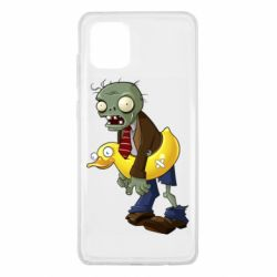 Чехол для Samsung Note 10 Lite Zombie with a duck