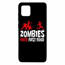 Чохол для Samsung Note 10 Lite Zombies hate fast food
