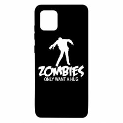 Чехол для Samsung Note 10 Lite Zombies only want a hug