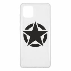 Чохол для Samsung Note 10 Lite Зірка Капітана Америки