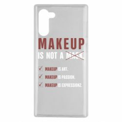 Чехол для Samsung Note 10 Make Up Is Not A Mask