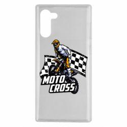 Чехол для Samsung Note 10 Motocross