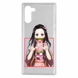 Чохол для Samsung Note 10 Nezuko