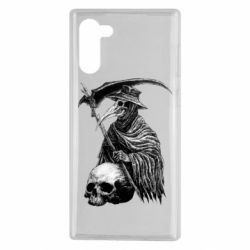 Чехол для Samsung Note 10 Plague Doctor graphic arts