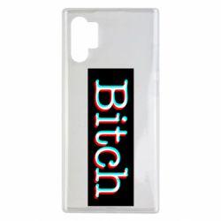Чехол для Samsung Note 10 Plus Bitch glitch