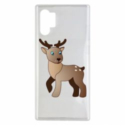 Чехол для Samsung Note 10 Plus Cartoon deer