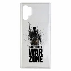 Чехол для Samsung Note 10 Plus COD Warzone Splash