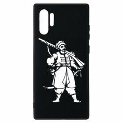 Чехол для Samsung Note 10 Plus Cossack with a gun