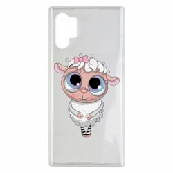 Чехол для Samsung Note 10 Plus Cute lamb with big eyes