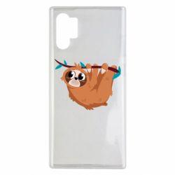Чохол для Samsung Note 10 Plus Cute sloth