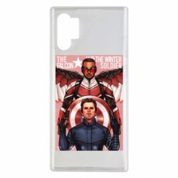 Чохол для Samsung Note 10 Plus Falcon and the Winter Soldier Art