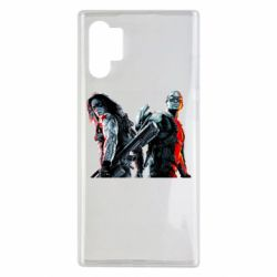 Чохол для Samsung Note 10 Plus Falcon and Winter Soldier